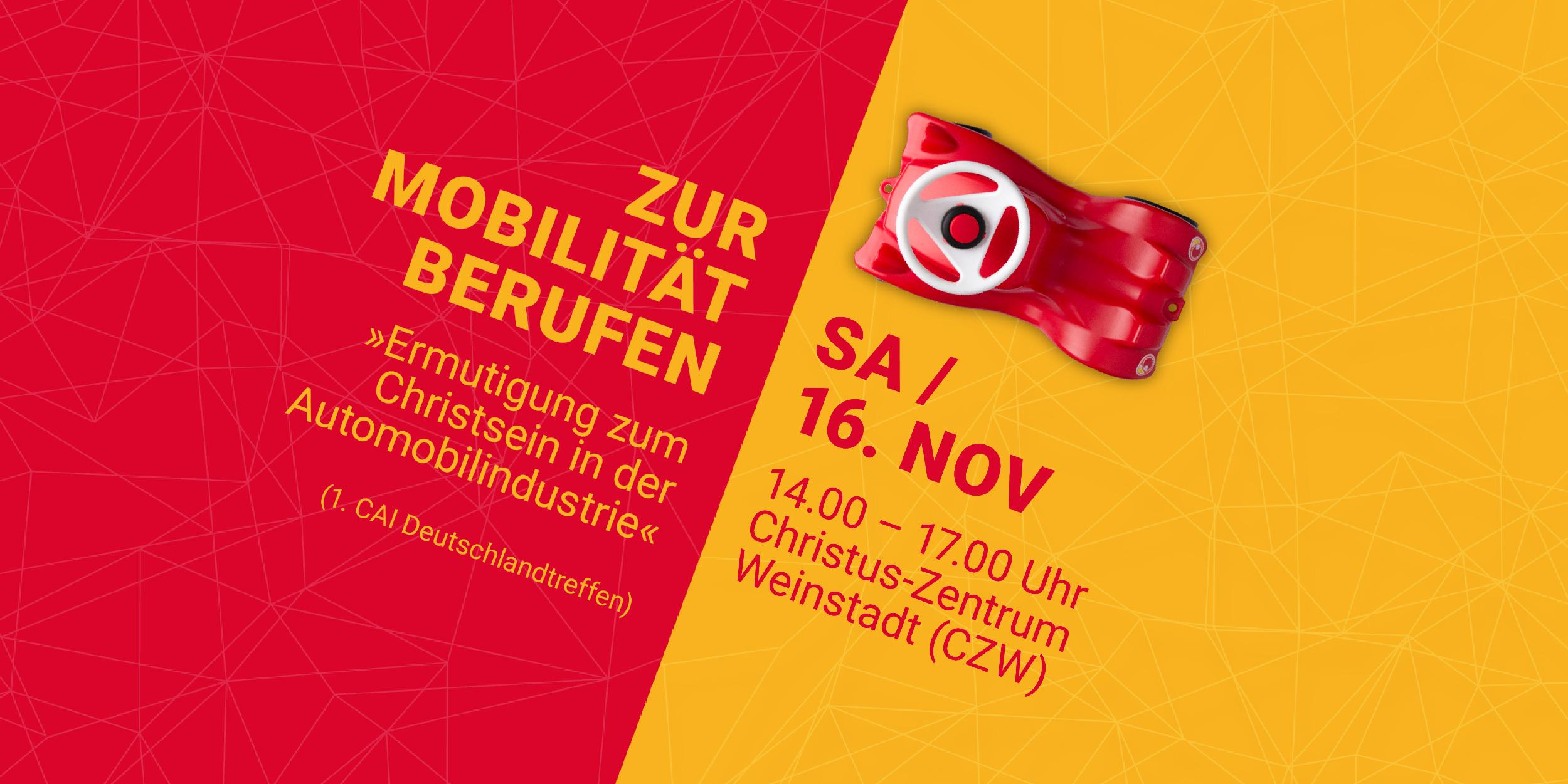 Save the date: 1. CAI-Deutschlandtreffen und Daimler-Christentreffen am 16.11.2019
